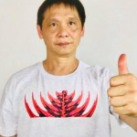 "Austin Goh, Wears ""Vibrant Power"" T-shirt, from Nelln by Nelly Nastase!"